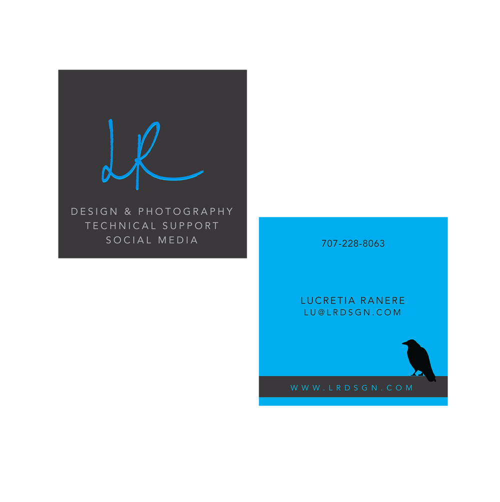 LR Design Business Card