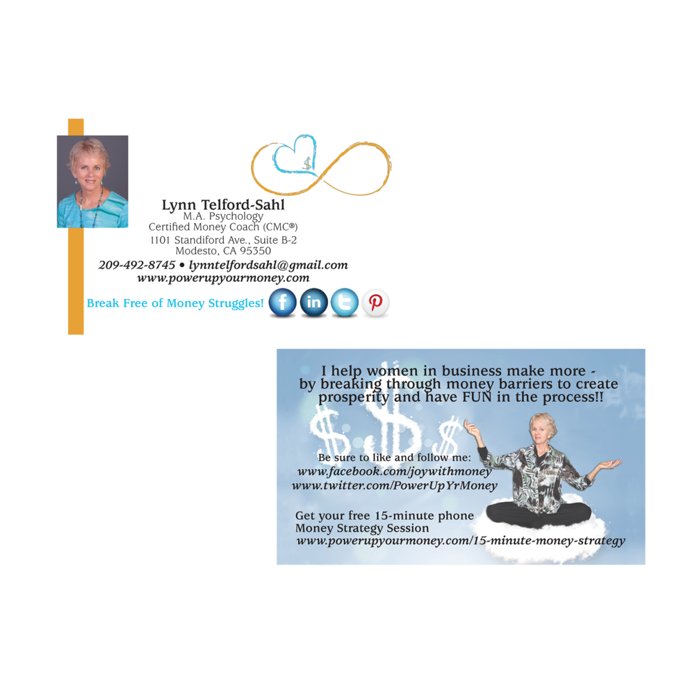 Lynn Telford-Sahl Business Card