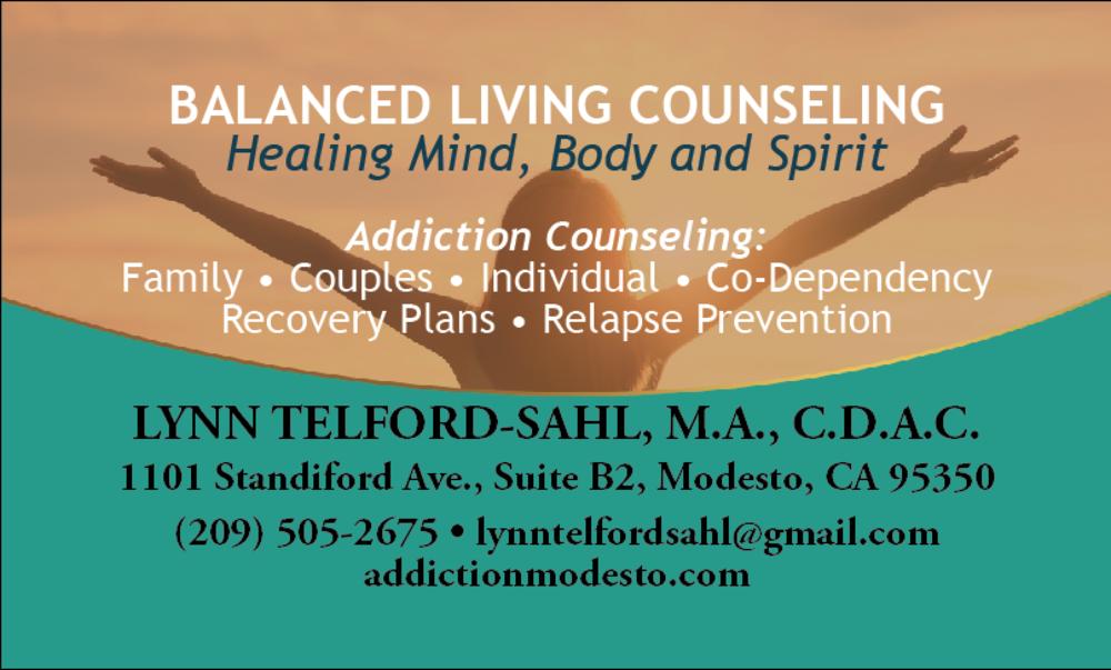 Balanced Living Business Card