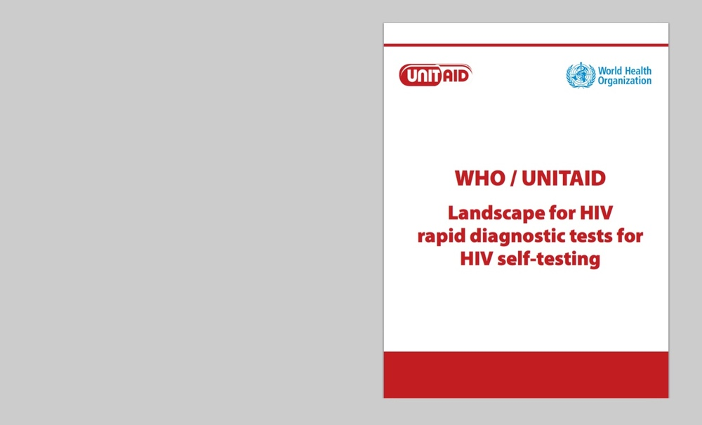 UNITAID and WHO Review Emerging Landscape for HIV Self-Testing