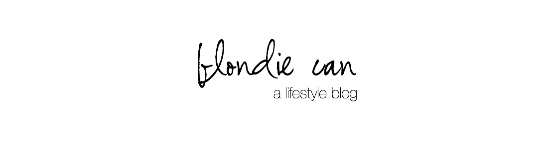 Blondie Can