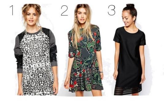 fall 2014 asos dresses