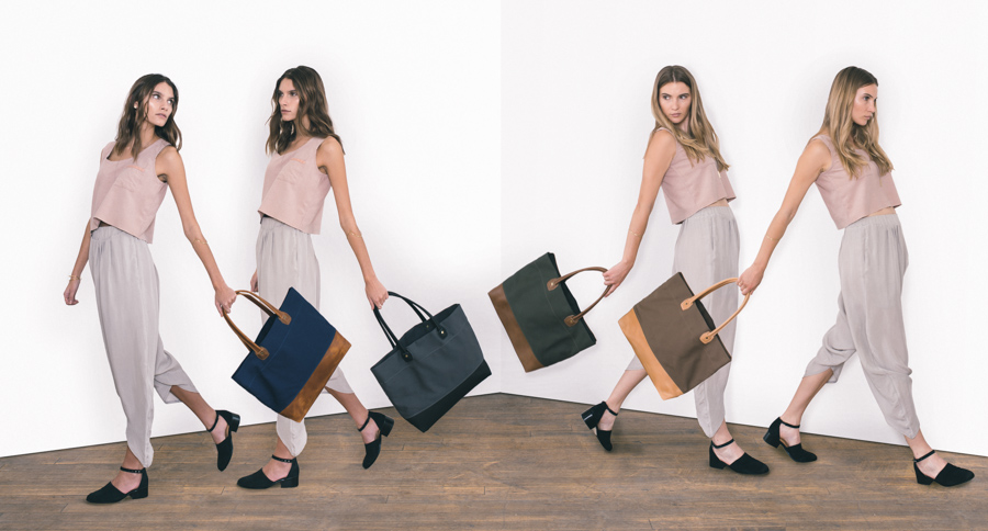 Wood & Faulk: Tote Collection