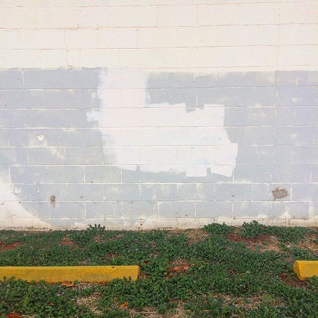 #embracethebuff #graffitiremoval #colorfieldmural #staybuffed #urbanart #okcart #okc #art