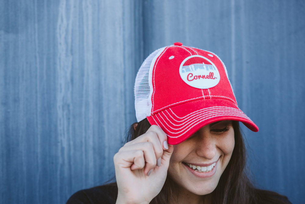 THE CAP Available in 5 styles with fits and washes for everyone. The cap is a great accessory for the busy collegiate that's always on the go.