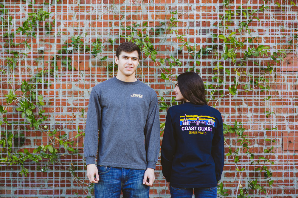 unisex LONG SLEEVE TEE Available in 3 styles:The Ultimate, The Standard & Comfort Colors,the long sleeve tee is the most popular way to Rep Your Skyline.