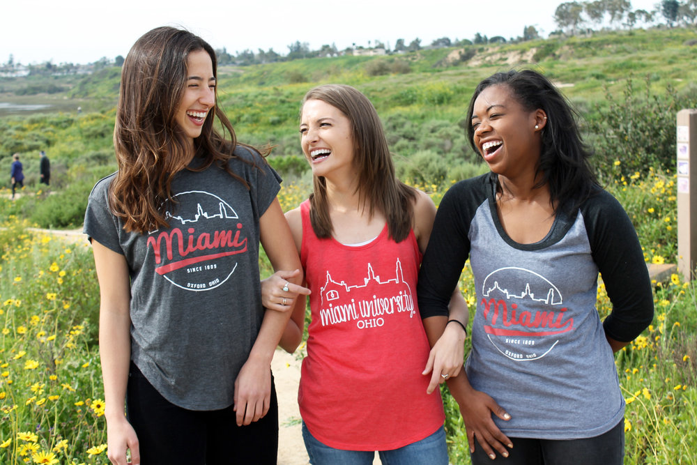 women's styles Available in 4 stylish garments created and designed just for women:The French Terry, Raglan, Ultra Soft Tee & Ultra Soft Tank.