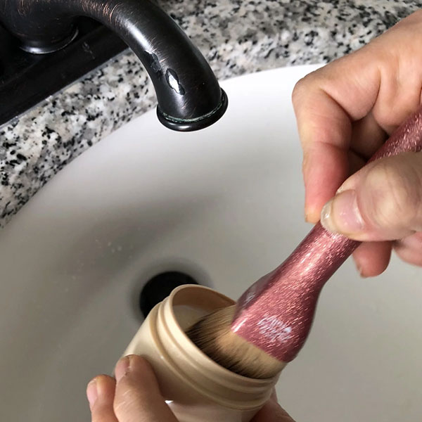 POPSUGAR  Attention: This Makeup Brush Cleaning Hack Will Change Your Life