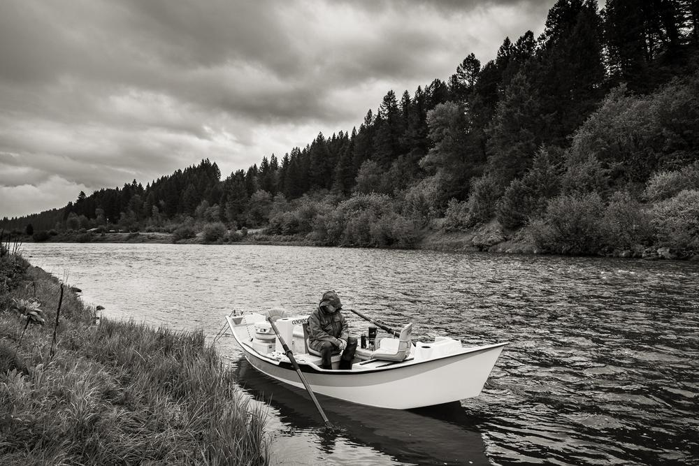 Fly Fishing on the Henry's Fork of the Snake River outside of Ashton, Idaho