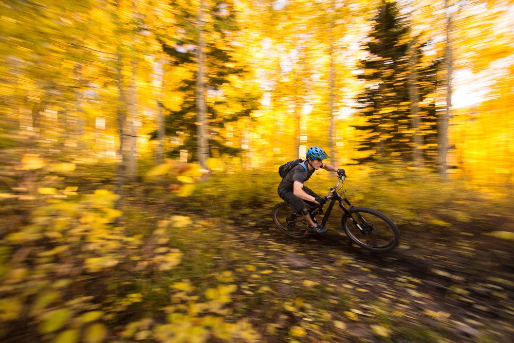 Colton Wenn riding American Fork Canyon outside of Salt Lake City, Utah