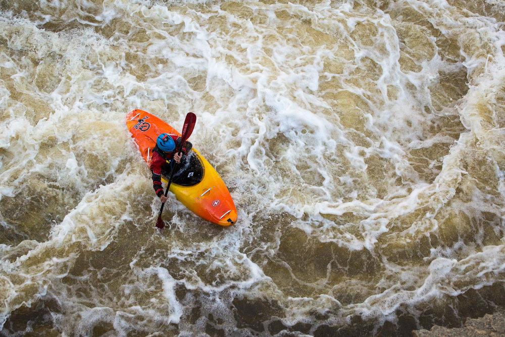 Whitewater Kayaking on the Upper Provo River in Utah