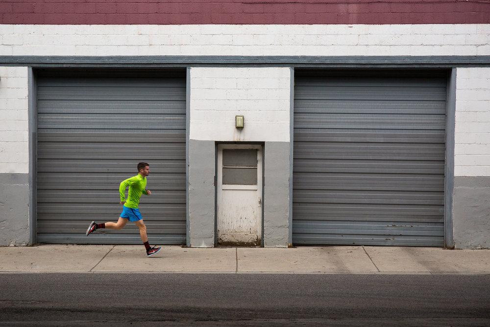 Fitness in downtown Salt Lake City, Utah