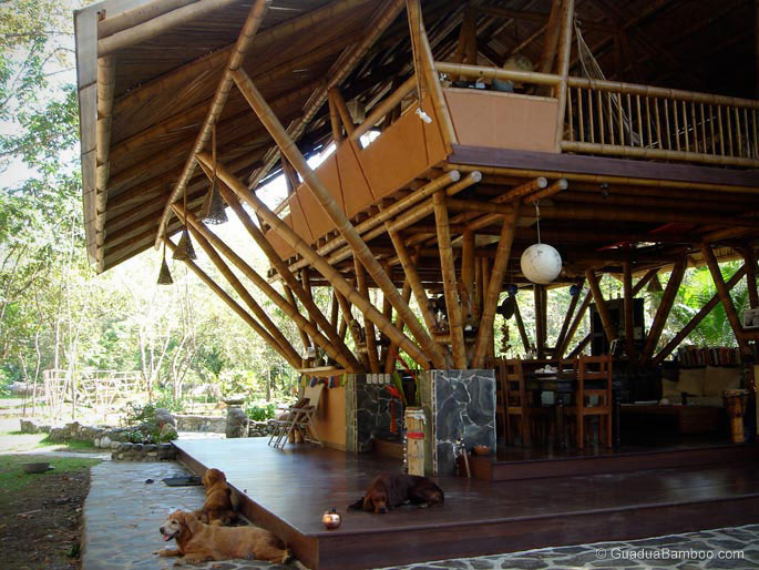 Bamboo House in Costa Rica