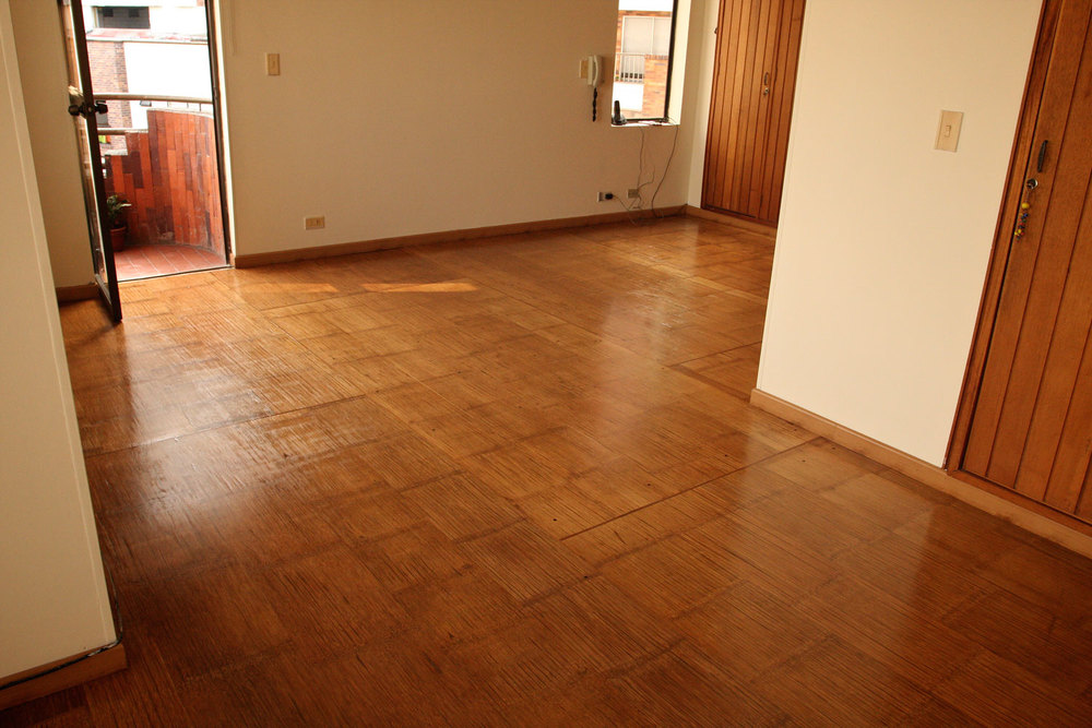 Crushed Bamboo Panel Floor