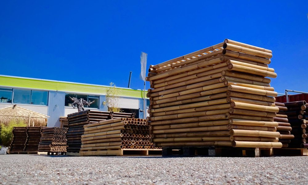 Large Inventory  More than 3,000 m2 of bamboo inventory for immediate supply and distribution.
