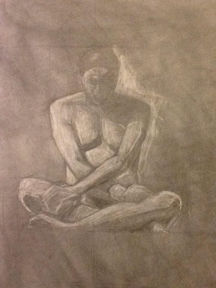"Graphite on paper / 24"" x 19"" / 2012"