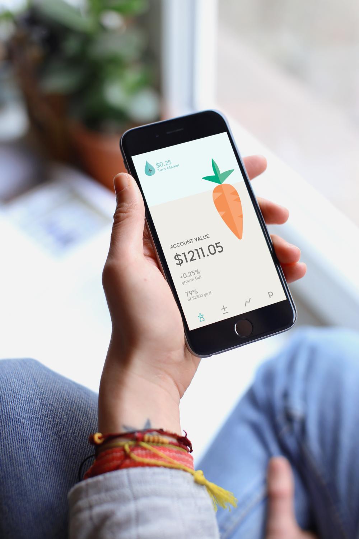 Grow Financial App for Millennials  UI/UX Design