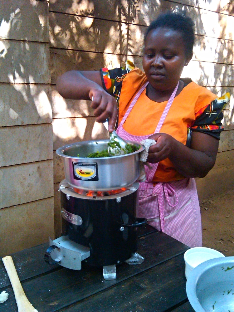 Fuel-efficient cookstove design