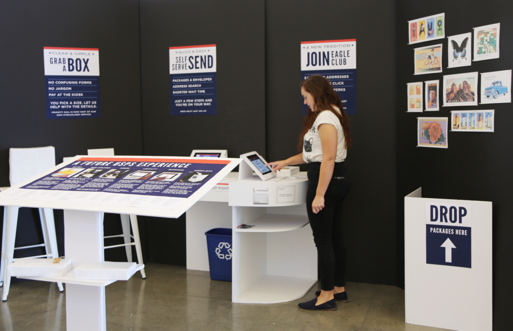 Redesigning the USPS experience