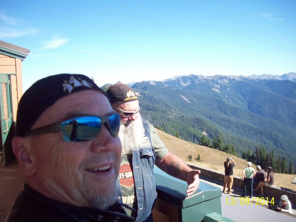 Swing up to Hurricane Ridge for the beautiful view!