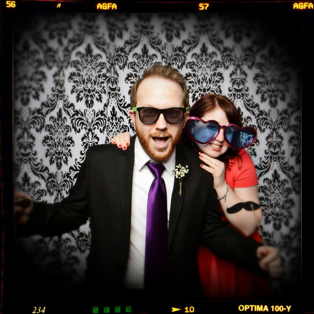 Photo Booth KY Couple