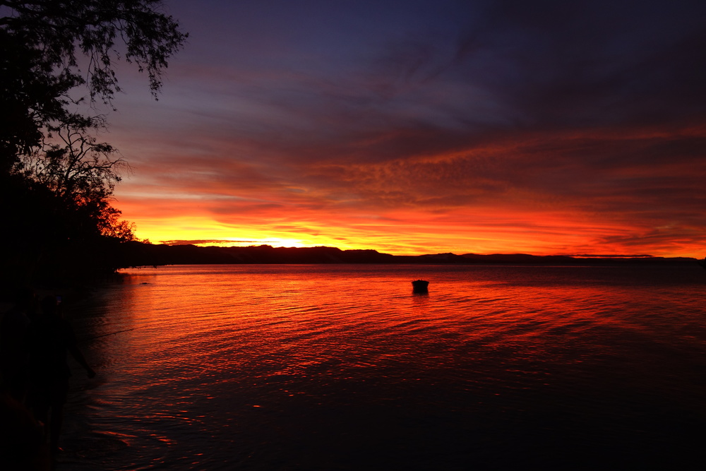 the best sunset we have ever seen - Eddies Camp FNQ. More updates coming soon!