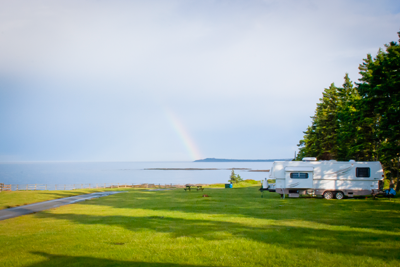 Premium Ocean Front RV Sites With Full Hook-ups