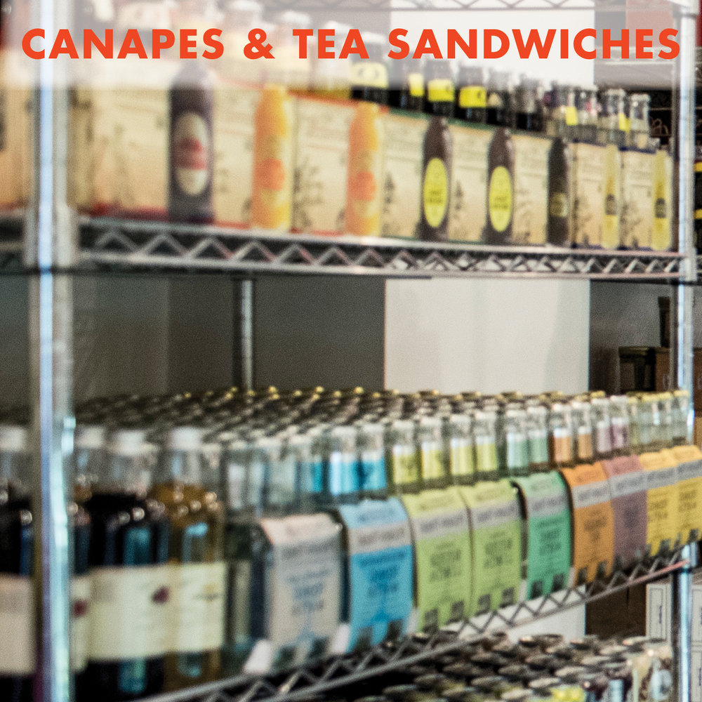 Canapes & Tea Sandwiches