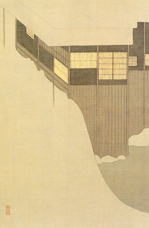Settai komura :A Japanese painter of the early period of Taisho - Showa,              a woodblock artist, an illustrator, a person of binding. 小村 雪岱 : 大正~昭和初期の日本画家、版画家、挿絵画家、装幀家。