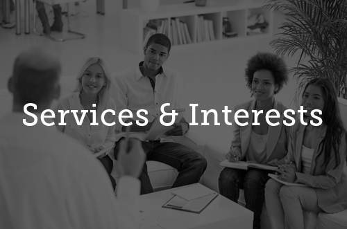 Services & Interests