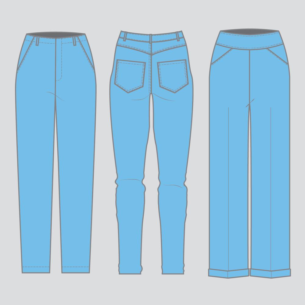 Patternmaking: Pants