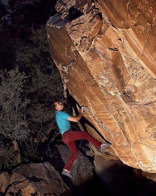 @mister_spray climbing King Fury before the fad started. #hipster #hipsterpants