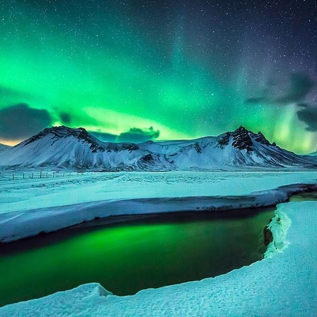 Trip to Iceland finally booked! So excited!  Suggestions? #iceland #northernlights (not my photo by the way but hoping to get some like that!)