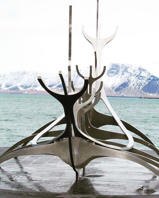 The Sun Voyager Reykjavik Iceland #iceland #reykjavik #wanderlust #winter