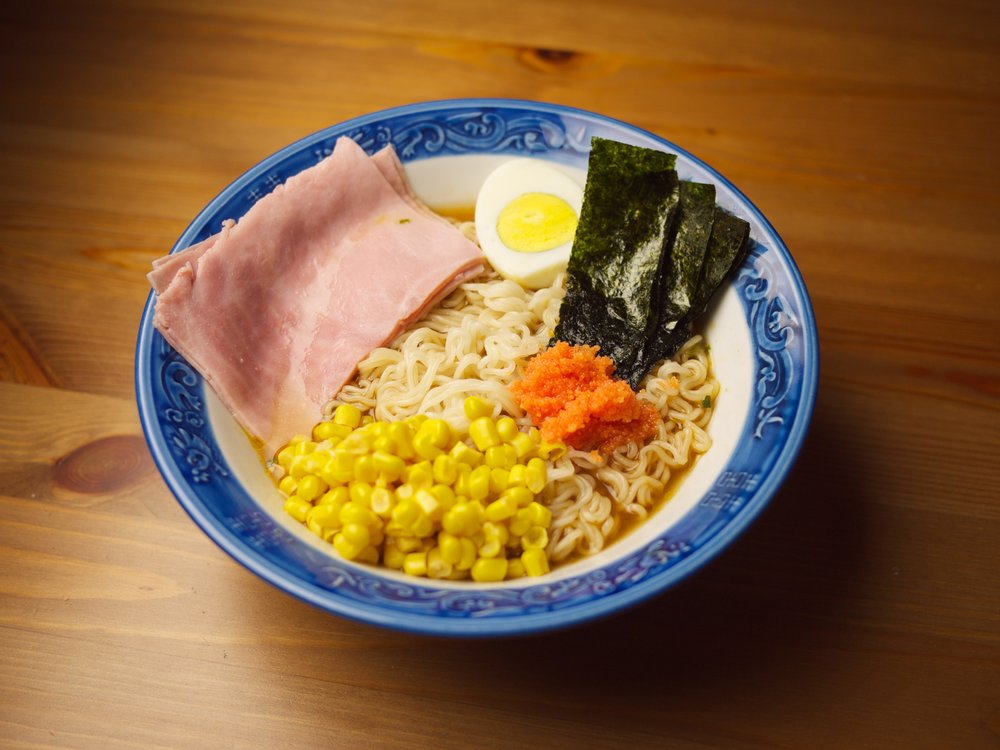Monday Special %22PONYO%22 Ramen with Ham! (1).jpg