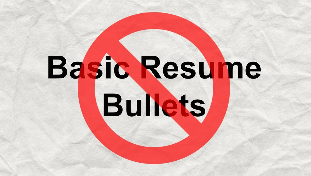 this is how you nail those resume bullets careerly