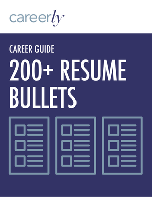 200 resume bullet examples