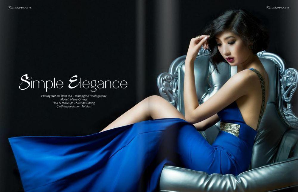 Fashion Shift Magazine SPRING 2015  model Maria Ortega