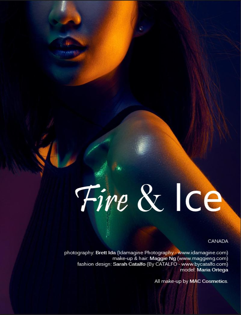 Veux Issue 31 - Maria - Fire & Ice
