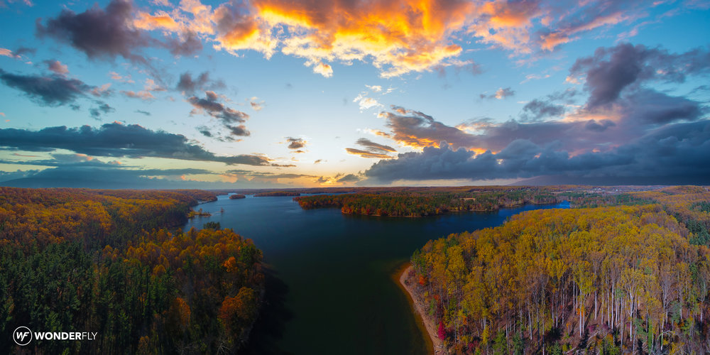 Wonderfly Aerial Loch Raven Reservoir Drone Photo