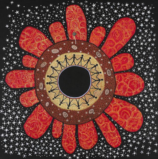 Warmun Mandala, 2002. Photo Credit: Trevor Nickolls