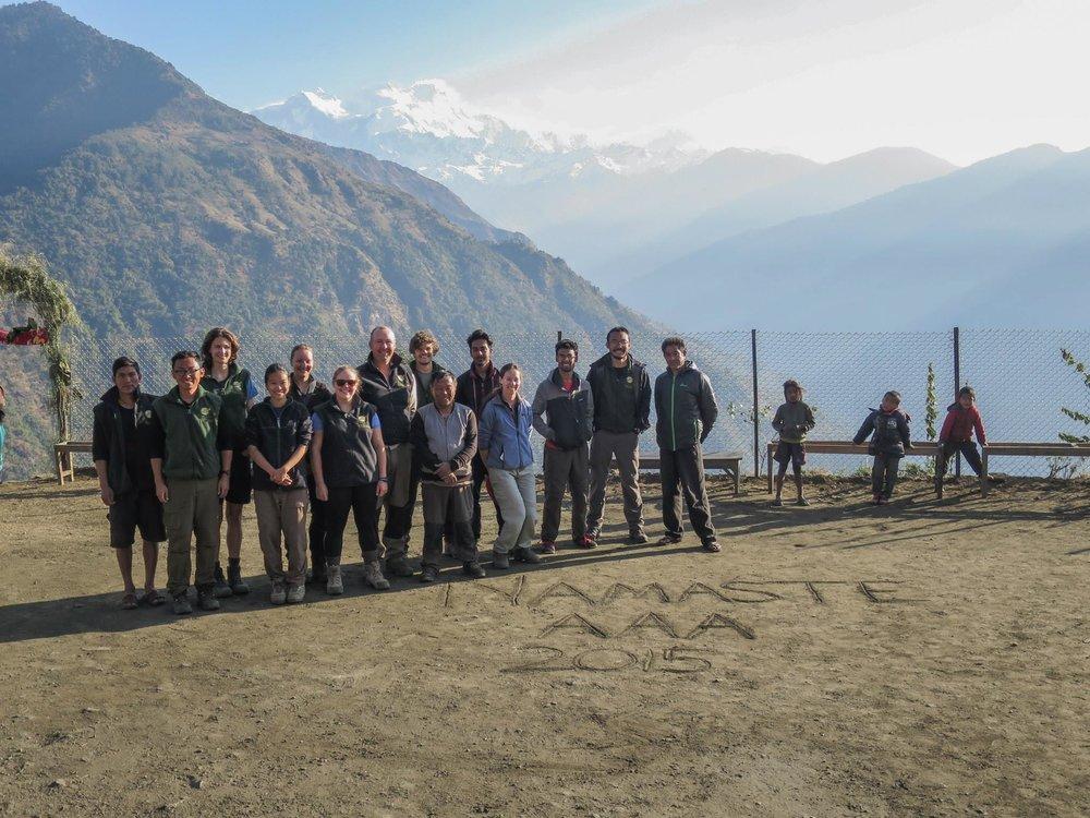Team Kaji Sherpa. Nepal. 2015.