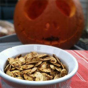 Indian Spiced Pumpkin Seeds