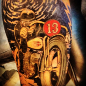Lucky 13 tattoo, 2012