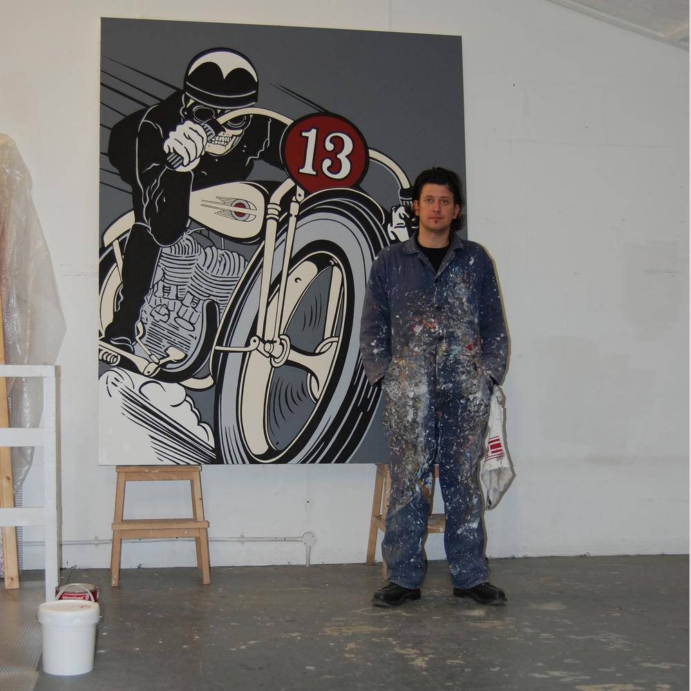 Lucky 13 Grey, 2008