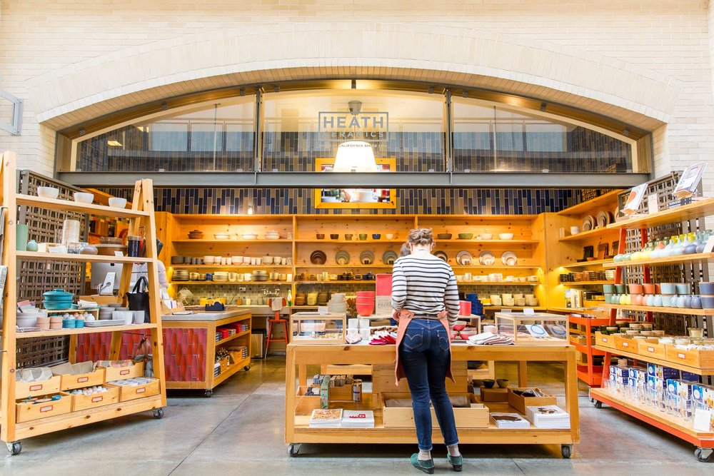 Photos of the Ferry Building Marketplace for their new website designed by Sköna.
