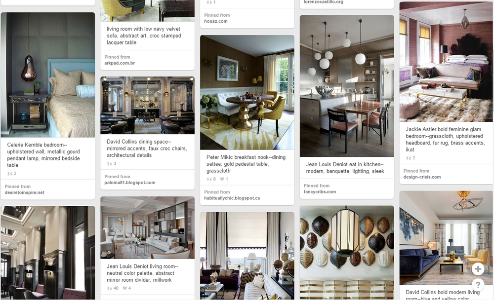Modernist-Glamour-Pinterest-Screenshot