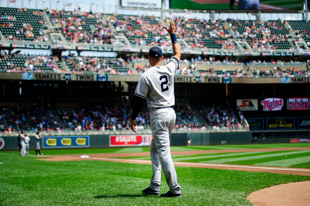MINNEAPOLIS, MN - JULY 5:  on July 5, 2014 at Target Field in Minneapolis, Minnesota. The Twins defeated the Yankees 2-1 in eleven innings. (Photo by Hannah Foslien/Getty Images) *** Local Caption *** =m#3;=v#3