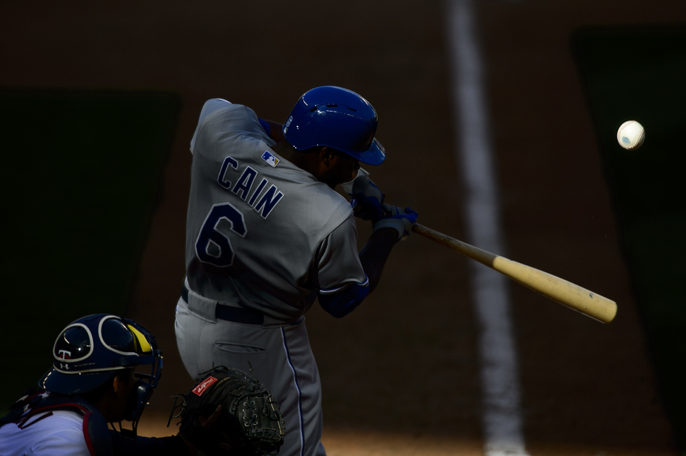 MINNEAPOLIS, MN - APRIL 13:  of the home opening game on April 13, 2015 at Target Field in Minneapolis, Minnesota. The Royals defeated the Twins 12-3. (Photo by Hannah Foslien/Getty Images)