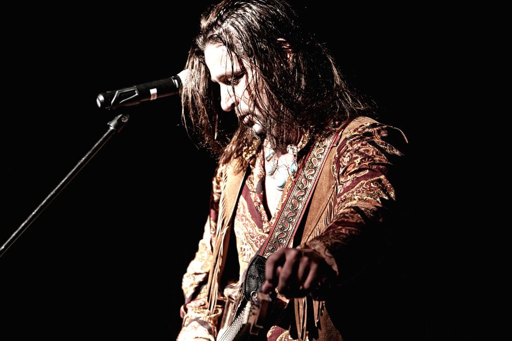 Harley Hamm, local musician